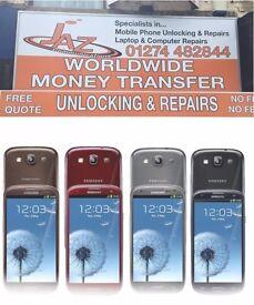 UK Stock Original Samsung Galaxy S3 ,Unlocked,Like Brand New,With Warranty