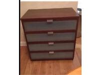 Ikea brown bedroom set