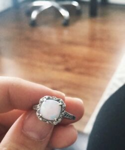 925 CC Opal Ring from Peoples