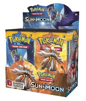 Pokemon TCG Sun and Moon Booster Pack ENGLISH SEALED PACK ! Free Shipping!