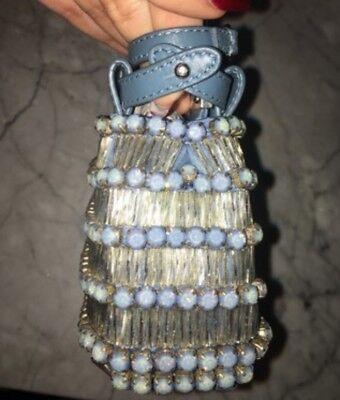 Fendi Micro Peekaboo Embellished with Crystal
