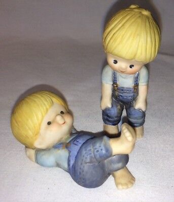ENESCO COUNTRY COUSINS 2 SCOOTER 1980 VERY GOOD