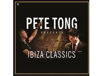 2 x Pete Tong tickets GLASGOW Standing