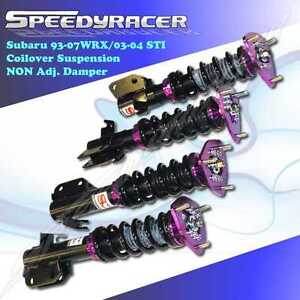 Subaru IMPREZA WRX Legacy coilover suspension kits STRUT SHOCK Daily & StrPURPLE