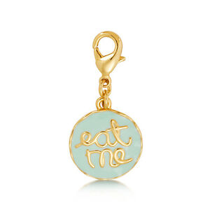 Disney Couture Alice in Wonderland - Eat Me Necklace DYCH0733 Charm rrp $39.00