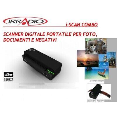 Scanner Digitale Multifunzione Portatile per rullini negativi fotografie ecc.