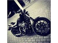 Harley Davidson 883 Iron stage 1