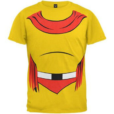 NEW Licensed MIGHTY MOUSE COSTUMES T Shirt funny halloween superhero SALE!!! - Funny Superheroes Costumes