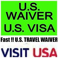 FAST US WAIVER & US VISA SERVICES TRAVEL TO USA !!!