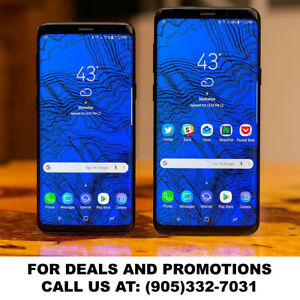 Samsung Note 8, S9, S9+, S8, S8+, S7, S6, S5 & Note 5 on sale!