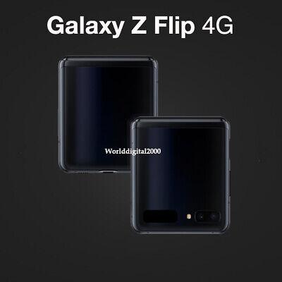 """Samsung Galaxy Z Flip SM-F700N 8G RAM 256GB -Mirror Black- Unlocked FHD+ 6.7"""" 4G"""