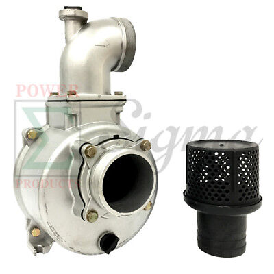 Semi-trash Water Pump Only For Keyed Shafts 4 In Ports