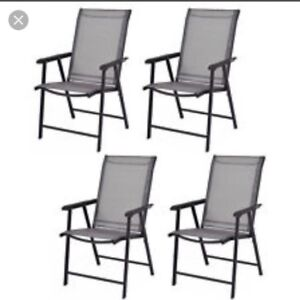 ISO Folding Deck Chairs