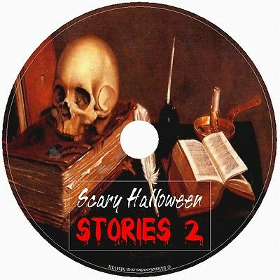 SCARY HALLOWEEN STORIES II Handpicked Tales of Fright Terror & Horror! 1Audio CD (Audio Halloween Stories)