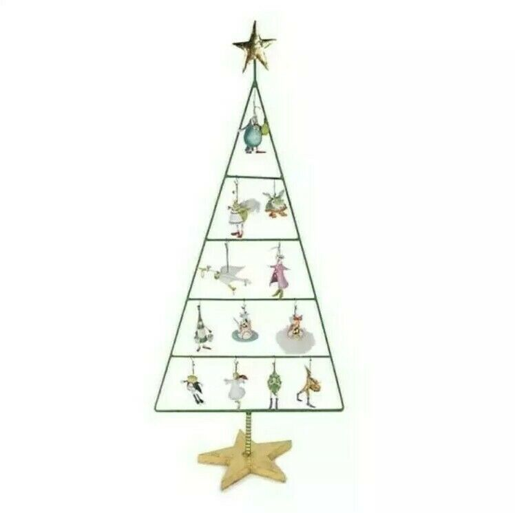 NEW Patience Brewster Krinkles12 Days Mini Display Tree Ornaments not included