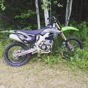 2009 Kawasaki Kx250f for sale!!