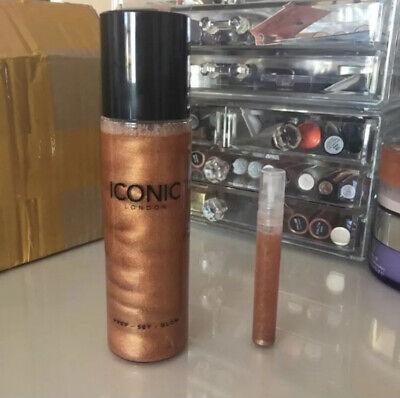 ✨Iconic London Prep - Set - Glow Spray 5ml Sample Shade Glow ✨