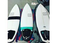 "Surfboard 5""10 x 19 3/4 x 2 5/8"