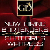 Looking for Bartenders, Servers, and Shooter Girls!