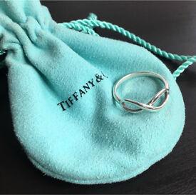 Tiffany & Co 'infinity' ring