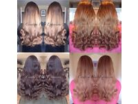 From £150 professional Micro ring hair extensions & LA weave mobile,insured.