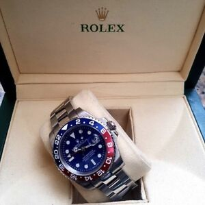 brand new rolex gtm watch with box