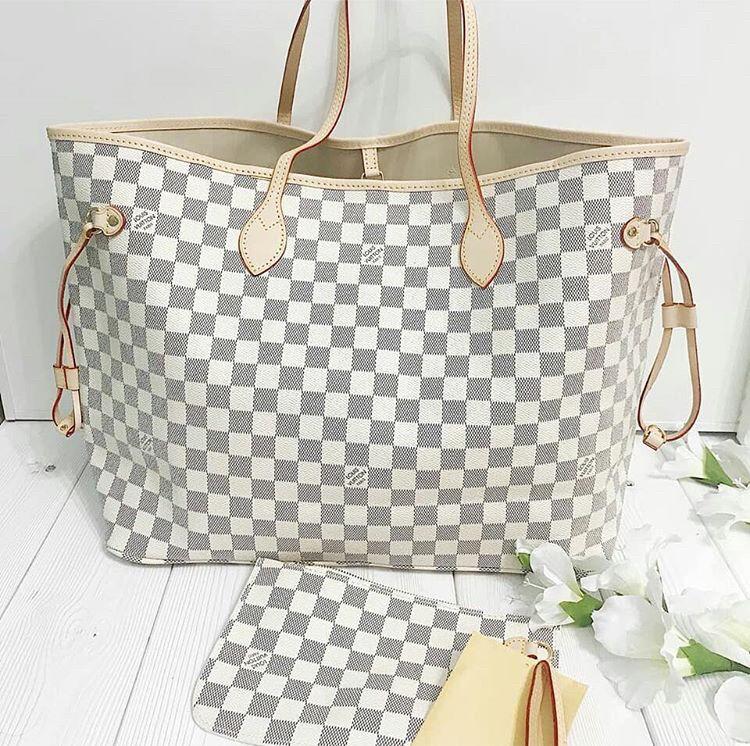 1d5250806d8 Louis Vuitton Neverfull Designer Womens Handbag Bag Clutch Pouch Purse  Wallet Travel Bag Holiday