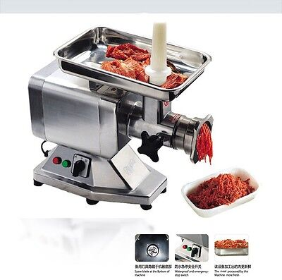 Heavy Duty Commercial Stainless Steel 1.5hp Electric Meat Grinder No22 Etlnsf
