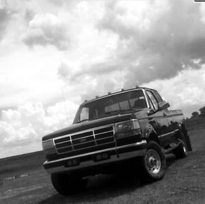 Looking Ford F-250 cab