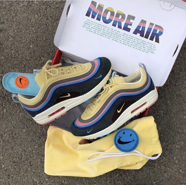 cddb73df2 Authentic Deadstock x Sean Wotherspoon Nike Air Max 1/97 | in ...