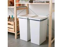 Large garbage bin 42 Litres. Waste separation bin.