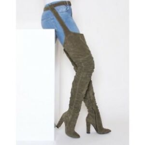 RIHANNA STYLE THIGH HIGH BOOTS