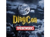 1x Diagcon Harry Potter convention ticket