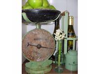 Vintage Salter Cast Iron No. 50 Kitchen Scales