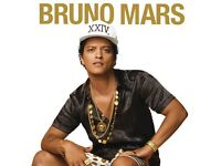 Bruno Mars Standing Tickets Sheffield 6th May