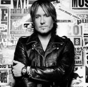 4 Keith urban tickets