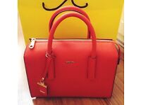 Real DKNY Orange Bag