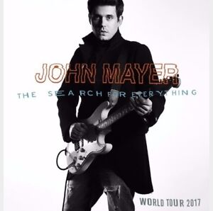 Two Tickets to John Mayer April 19th