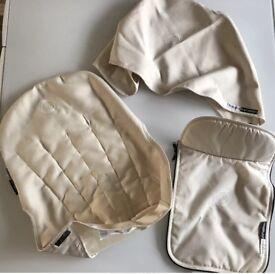 Cameleon Bugaboo fabric set off white cream rrp £95