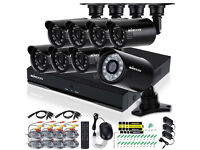 Surveillance Kits 16CH HDMI 960H DVR + 8/16PCS IR Waterproof CCTV Cameras Home Security System