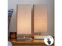 Two Touch Table Lamps