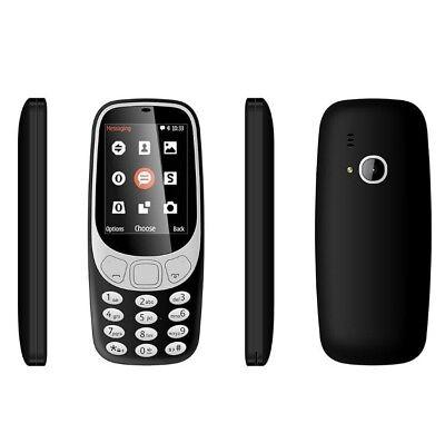 Brand New Nokia 3310 2017 Unlocked 3G Charcoal Black UK stock Sealed single sim