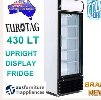 430 Ltr Commercial Drink Fridge - BRAND NEW