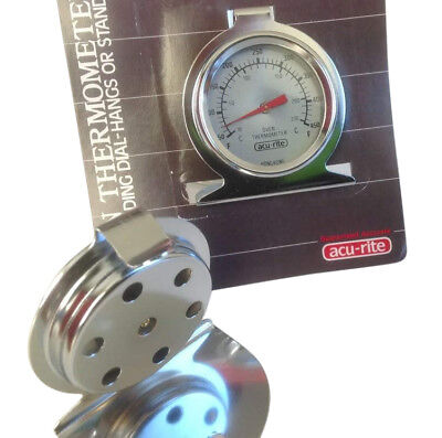 Acu- Rite Hanging Oven Thermometer. Brand New with Free Shipping! (Hanging Oven)
