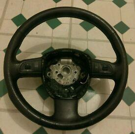 Audi a4 sline steering wheel