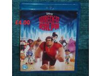 Disney Wreck it Ralph Blu Ray Awesome Film