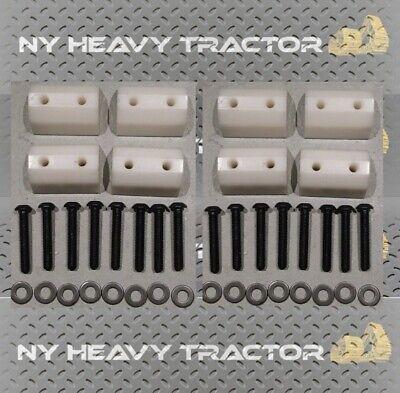 Rubber Track Lug Set Of 8 For Asv Rc50 Rc60 Pt50 Pt60 Bair