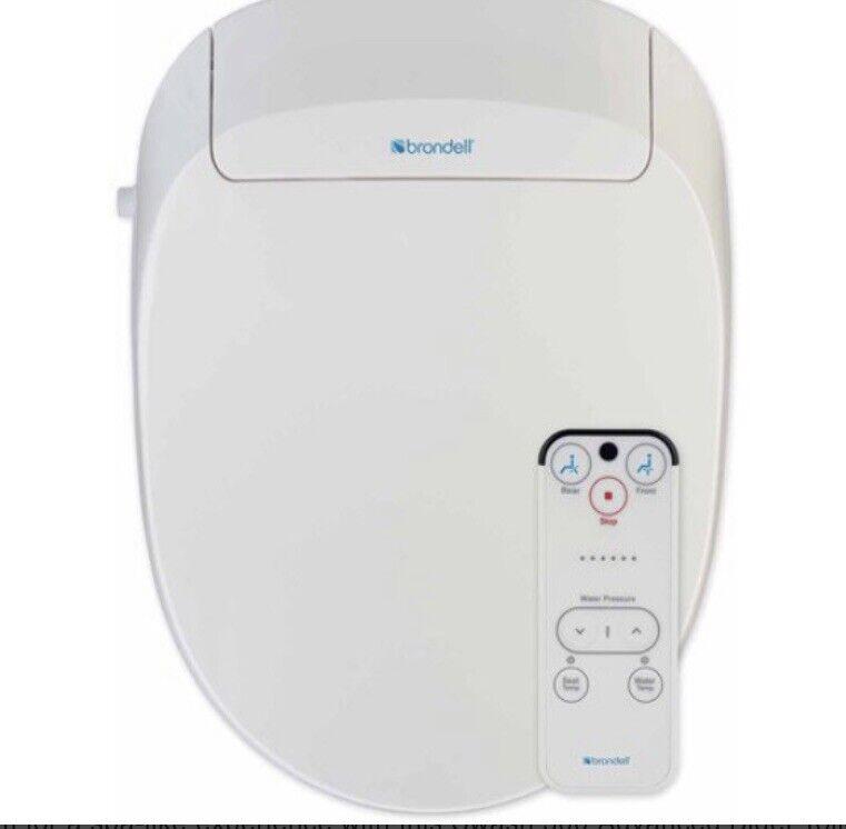 Brondell S300-EW Swash 300 Elongated Advanced Electronic Bidet Toilet Seat White