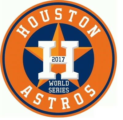 "Houston Astros WORLD SERIES 2017 cell phone  2"" decal vinyl sticker laptop"