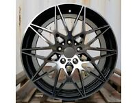 NEW 19'' 666M COMPETITION ALLOY WHEELS X4 BOXED 5X120 TO FIT BMW 3 4 5 SERIES E90 E92 F30 F10 COUPE
